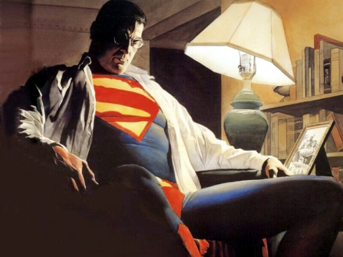 Even the Man of Steel needs down-time.