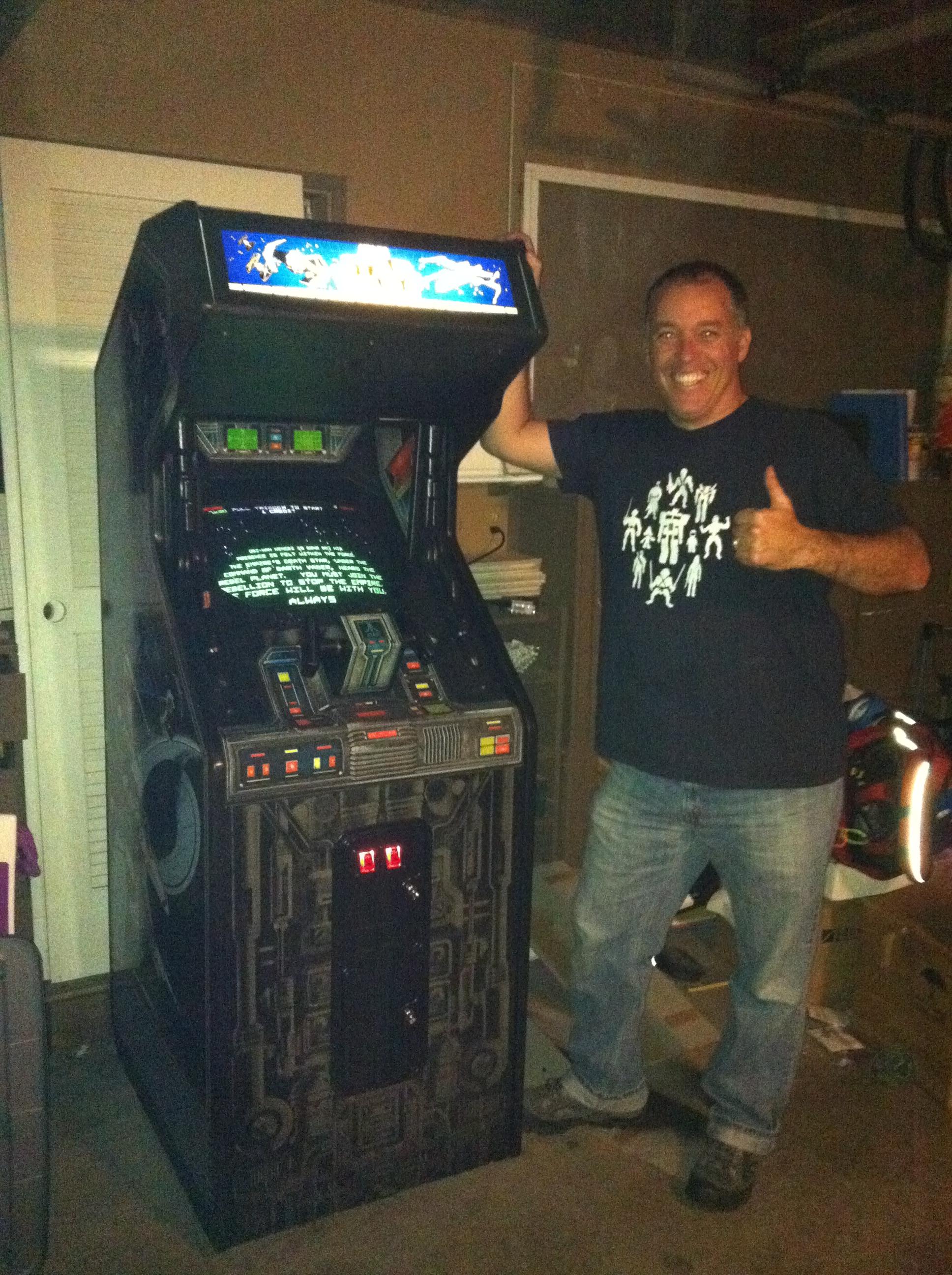 My Time Machine Star Wars Arcade From 1983 Dorkdaddy Com