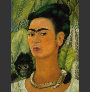 Kahlo Self Portrait