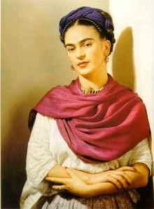 Frida, herself.