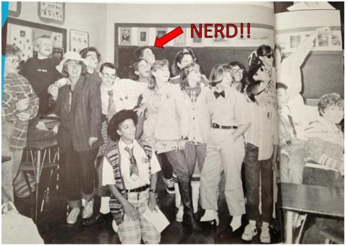 A nerd among nerds.