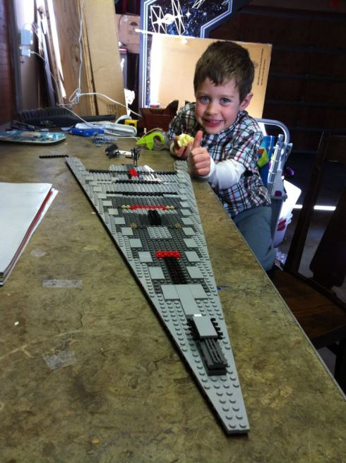 Lego Super Star Destroyer step 1 of 7
