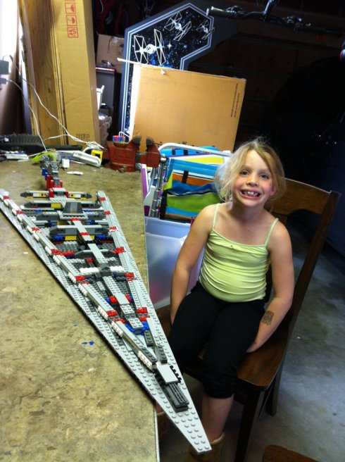 Lego Super Star Destroyer step 2 of 7