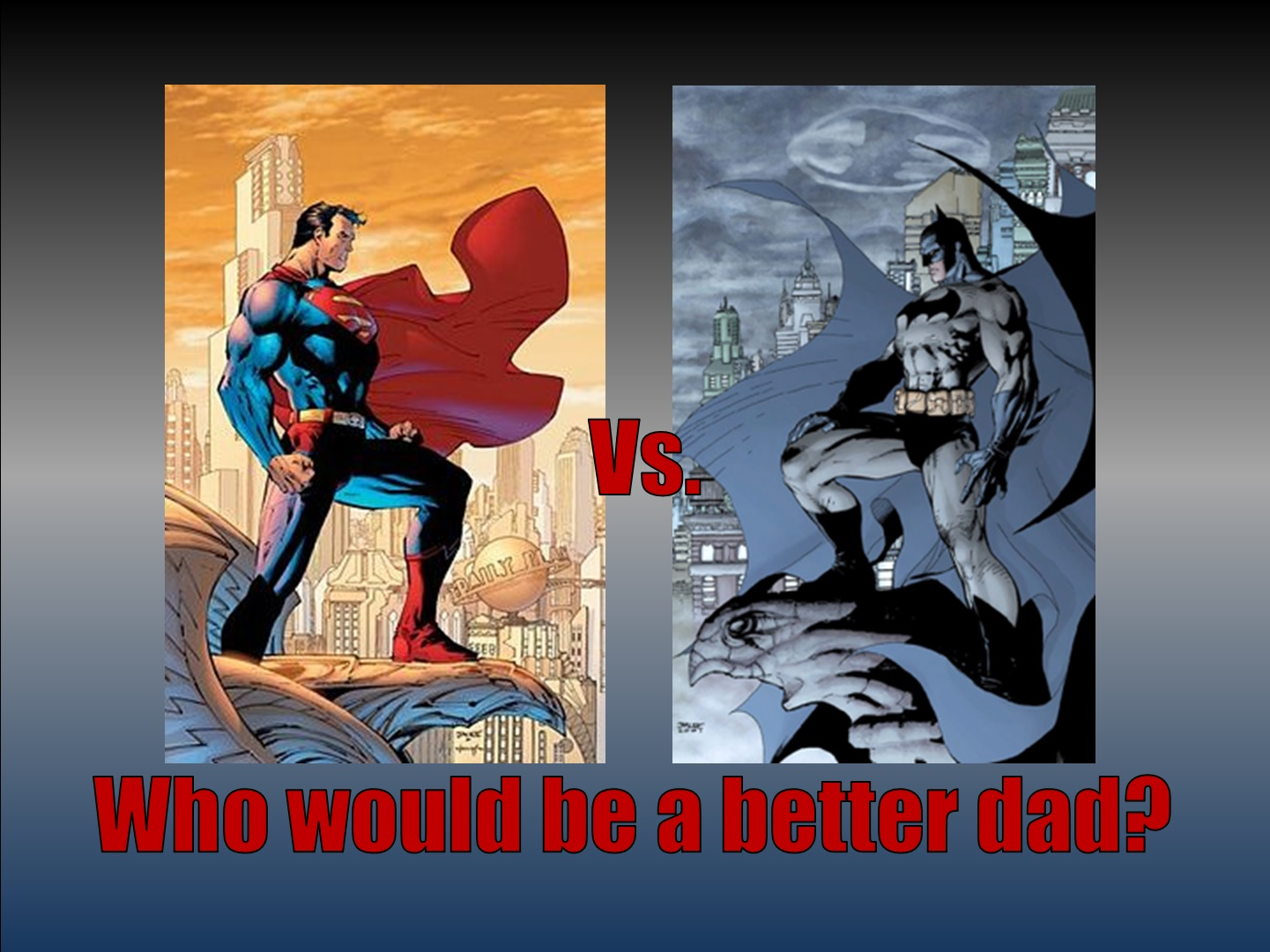 batman is better than superman essay