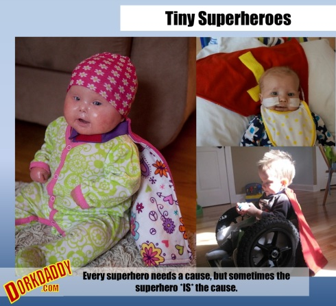 Tiny Superheroes