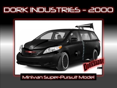 dorkindustries2000 knight rider minivan