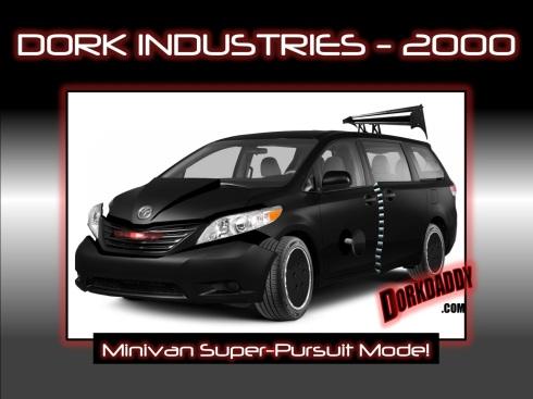 dorkindustries2000 knight rider minivan